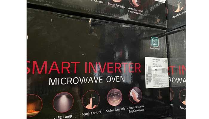معرفی و بررسی مایکروویو ال جی 42 لیتری اینورتر MH8265 LG Microwave